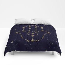 Hamsa Constellation Comforters