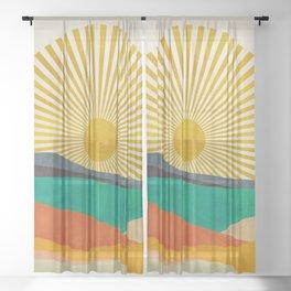 hope sun Sheer Curtain