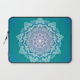 Baesic Turquoise Tranquil Mandala Laptop Sleeve