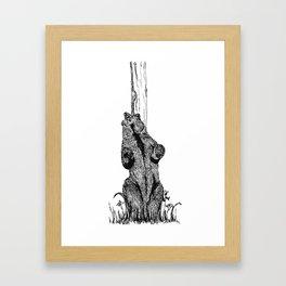 Dance, you sexy beast Framed Art Print