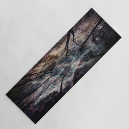 Starry Sky in the Forest Yoga Mat