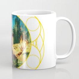Vortex Visions - Vi and Magic Circle Coffee Mug