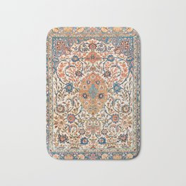 Isfahan Antique Central Persian Carpet Print Bath Mat