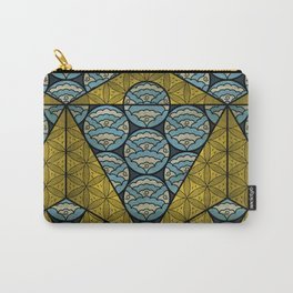 Sacred Geometry - Octahedron Air Carry-All Pouch