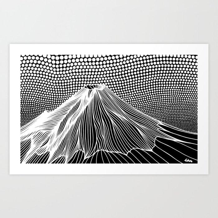 Mount Fuji Art Print