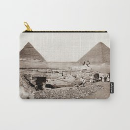 The Great Sphinx and Pyramids - 1867 Carry-All Pouch