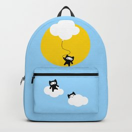 Ninja cats in the sky Backpack