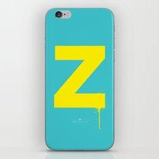 Z. iPhone Skin