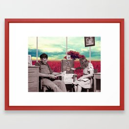 Dreamers / Escapists (2014) Framed Art Print