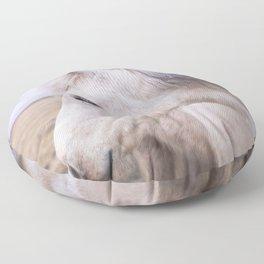 White Beauty Floor Pillow