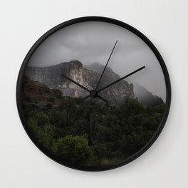 Red Rocks Sedona, Arizona Wall Clock