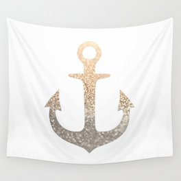 GOLD ANCHOR Wall Tapestry