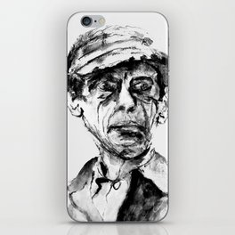 respectable man iPhone Skin