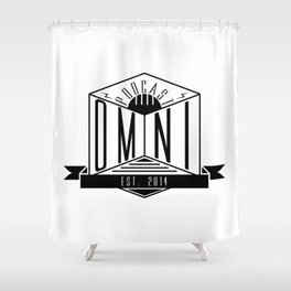 Omnipodden Shower Curtain