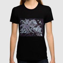 Deep Space Kraken Intaglio Etching T-shirt