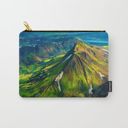 Green Landscape Carry-All Pouch