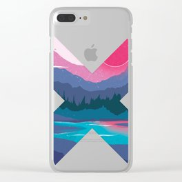Crossover by Nature Clear iPhone Case