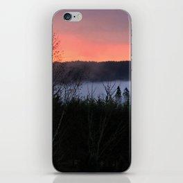 February Morning Sunrise iPhone Skin