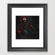 Goggles Framed Art Print