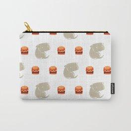 Sharkbark's Burgers - Pattern Carry-All Pouch