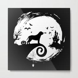 English Mastiff Halloween Costume Metal Print