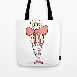 The Ballet Dancer Tote Bag