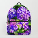 Elegant Purple & Lavender Hydrangea by judypalkimas