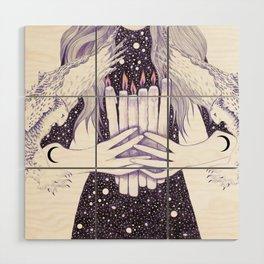Nightwalker Wood Wall Art