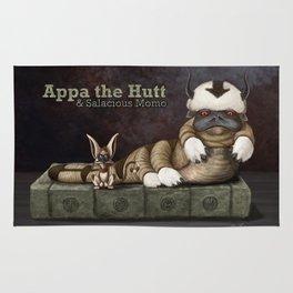 Appa the Hutt and Salacious Momo Rug