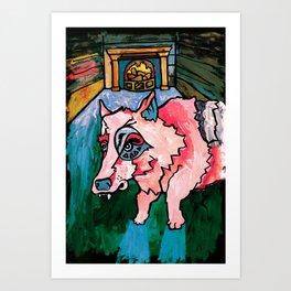 Company of Wolves Art Print