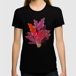 """Pink Scifi Tropical Jungle"" T-shirt"