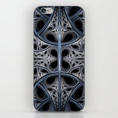 Skeletal Hall Fractal Art iPhone & iPod Skin