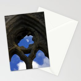 Penned in like a moon between arches Stationery Cards