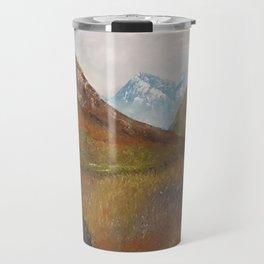 Arran, Scottish landscape by Lu Travel Mug
