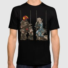 Turbo Kid MEDIUM Black Mens Fitted Tee