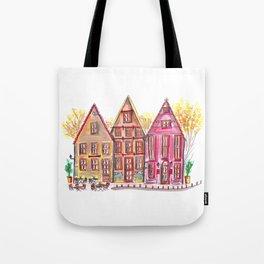 Coloured houses II Tote Bag