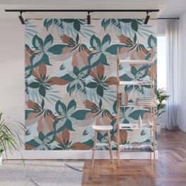 Tropical Bouquet Wall Mural