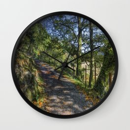 Autumn Countryside Wall Clock