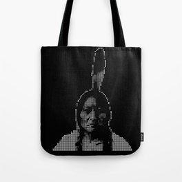 #1 Sitting Bull - RIP (Rest In Pixels) Tote Bag