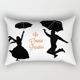 In Omnia Paratus ~ Ready For Anything ~ GG Rectangular Pillow