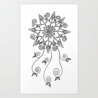 Dream Flower Art Print