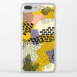 Piña Colada Clear iPhone Case