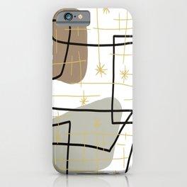 Mid Mod Mash iPhone Case