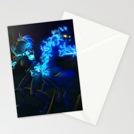 get out alive Stationery Cards
