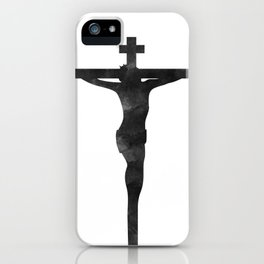 He Died For Our Sins iPhone Case