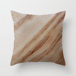 Unique beautiful wood veneer design Throw Pillow