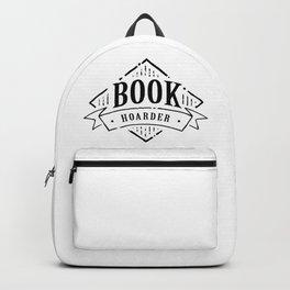 Book Hoarder Black Backpack