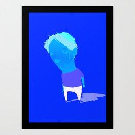 brains out Art Print