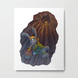 Terravora Mining Co. 2 Metal Print