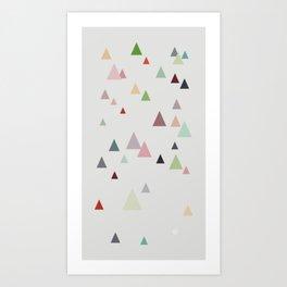 spring || in pastel colors Art Print